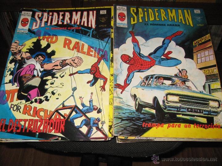 SPIDERMAN VOLUMEN 3 - LOTE 35 NÚMEROS - VÉRTICE - MUNDI COMICS (Tebeos y Comics - Vértice - V.3)