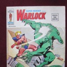 Cómics: SUPER HEROES PRESENTA WARLOCK Nº 16. V. 2 VERTICE 1974. VOL.2 TEBENI NUEVO. Lote 40685414
