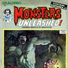 Cómics: MONSTERS UNLEASHER Nº6 (FRANKENSTEIN, JESÚS BLASCO, RALPH REESE, BRUNNER...) CAJA 1. Lote 40745010