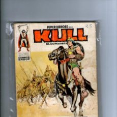 Cómics: SUPER HEROES PRESENTA KULL Nº 3 -- VERTICE V.1 -- TACO. Lote 40847284