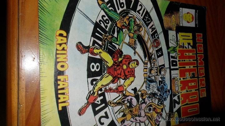 HOMBRE DE HIERRO Nº 4 (Tebeos y Comics - Vértice - Hombre de Hierro)