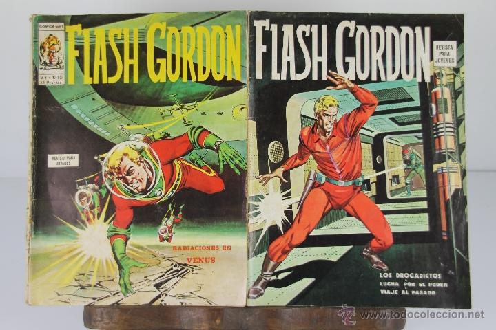 4094- LOTE DE 18 EJEMPLARES DE FLASH GORDON EDIT. VERTICE. AÑOS 70. (Tebeos y Comics - Vértice - Flash Gordon)