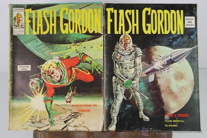 Cómics: 4094- LOTE DE 18 EJEMPLARES DE FLASH GORDON EDIT. VERTICE. AÑOS 70. - Foto 2 - 40869513