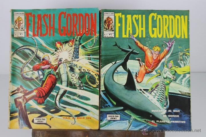 Cómics: 4094- LOTE DE 18 EJEMPLARES DE FLASH GORDON EDIT. VERTICE. AÑOS 70. - Foto 3 - 40869513