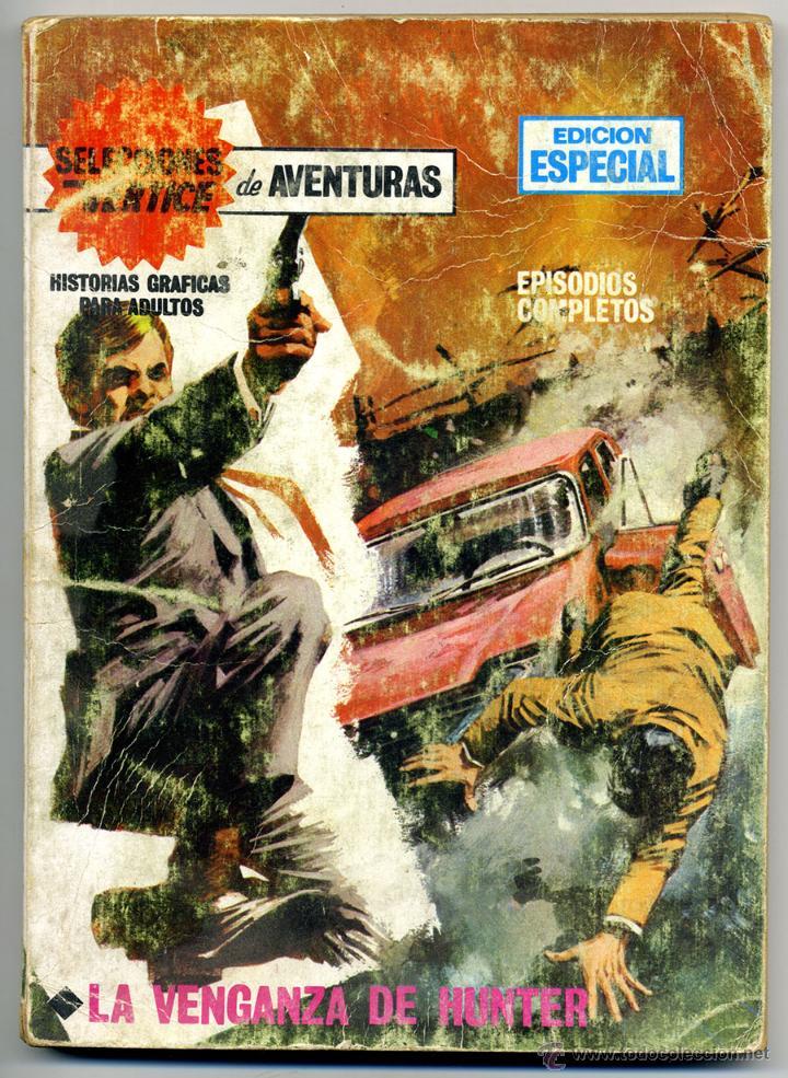 LA VENGANZA DE HUNTER Nº 23 (Tebeos y Comics - Vértice - V.1)