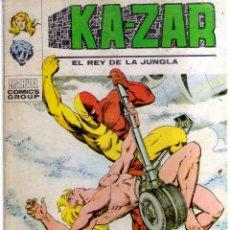Cómics: KAZAR EL REY DE LA JUNGLA Nº 6 - CJ27. Lote 41010132