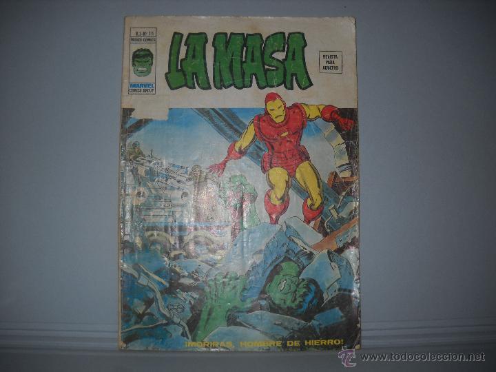 LA MASA VOLUMEN 3 NUMERO 15 VERTICE (Tebeos y Comics - Vértice - La Masa)