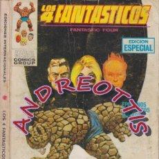 Cómics: LOS 4 FANTASTICOS, EDITORIAL VERTICE, V.1 N. 21, MATARTE PARA SALVARTE. Lote 35802381