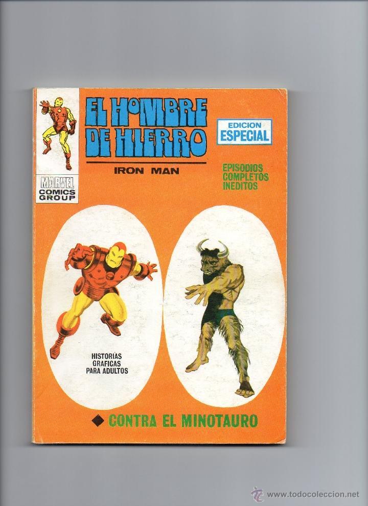 HOMBRE DE HIERRO V1 Nº10 VÉRTICE (Tebeos y Comics - Vértice - Hombre de Hierro)