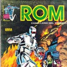 Cómics: CÓMIC VÉRTICE-SURCO - ROM-CABALLERO DEL ESPACIO - Nº 2 COLOR- LINEA 83. Lote 41343929
