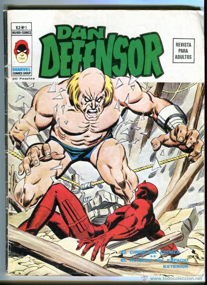 DAN DEFENSOR V 2 Nº 5 (Tebeos y Comics - Vértice - Dan Defensor)