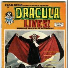 Cómics: DRACULA LIVES Nº 15 AÑO 1974. Lote 41346502