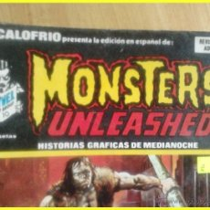 Cómics: CÓMIC ESCALOFRÍO MONSTERS UNLEASHED! NÚMERO 37. HISTORIAS GRÁFICAS DE MEDIANOCHE. 1975. Lote 41380025