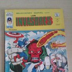 Cómics: MARVEL MUNDI COMICS 1974 (35 PTS) LOS INVASORES V1 Nº 8 ED VERTICE. Lote 41403575