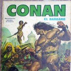 Cómics: CONAN, EL BÁRBARO (CONAN EL BUCANERO)- EXTRA Nº 1 - MUNDI-COMICS 1980. Lote 41503893