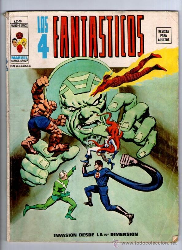 LOS 4 FANTASTICOS Nº 12 VOL.2 ** VERTICE * MUNDI COMICS (Tebeos y Comics - Vértice - 4 Fantásticos)