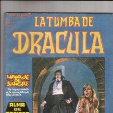 Cómics: VERTICE - ESCALOFRIO LA TUMBA DE DRACULA NUM.3 ( ESPECIAL 60 PAG.). MUYYY BUEN ESTADO. Lote 41583477