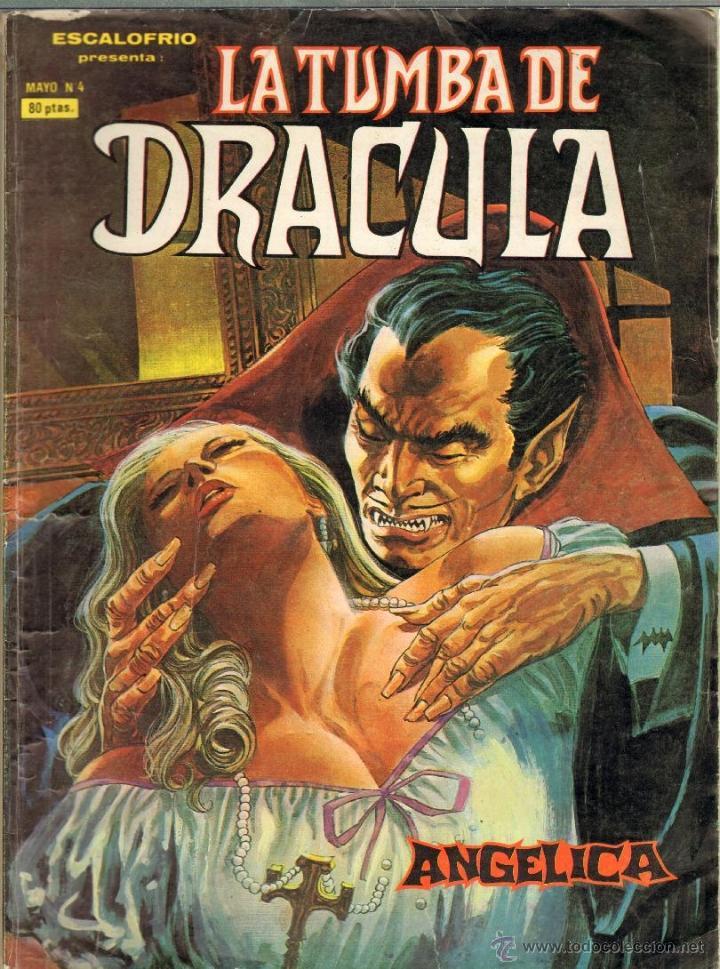 TEBEOS-COMICS CANDY - TUMBA DE DRACULA - Nº 4 - VERTICE - 1980 - ANGELICA - 1ª EDICION *BB99 (Tebeos y Comics - Vértice - Terror)