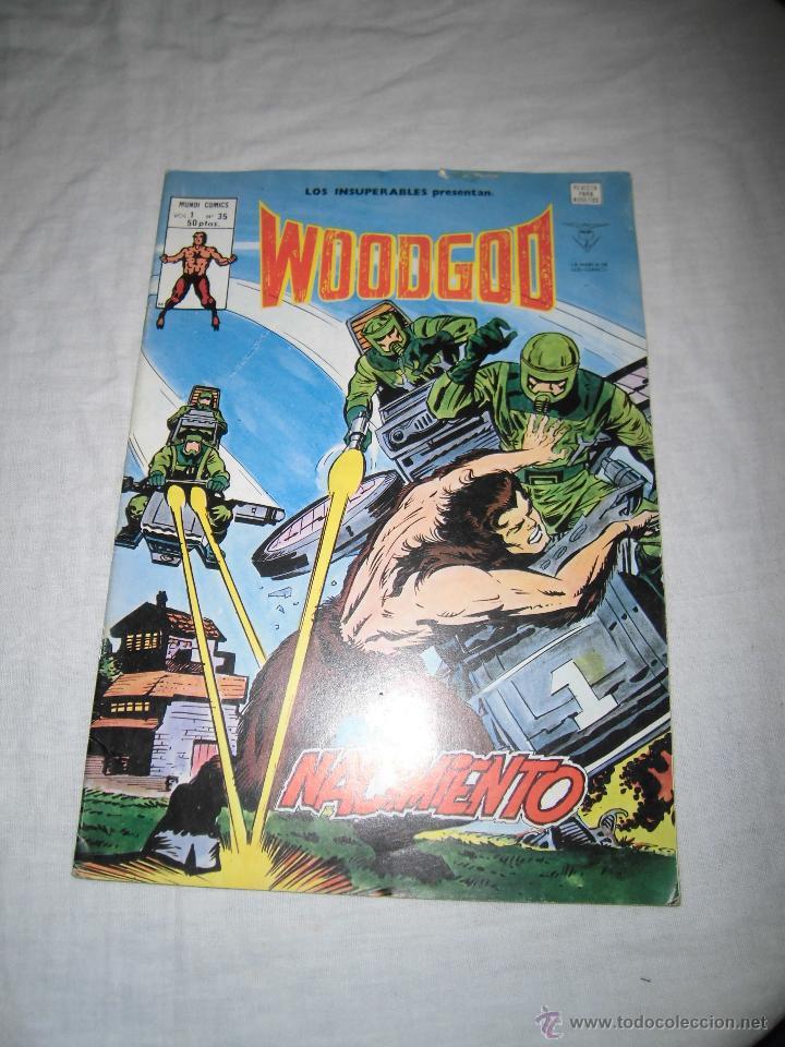 WOODGOD NACIMIENTO VOL.I.-Nº 35 EDICIONES VERTICE 1980 (Tebeos y Comics - Vértice - Otros)