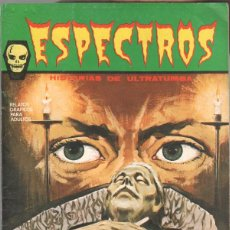 Cómics: ESPECTROS , HISTORIAS DE ULTRATUMBA Nº 1 EDI. VERTICE 1972, EXCELENTE ESTADO. Lote 41993527