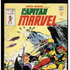 Cómics: SUPER HEROES Nº 132 - CAPITAN MARVEL - VERTICE. Lote 42109703