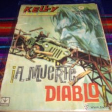 Cómics: VÉRTICE GRAPA KELLY OJO MÁGICO Nº 10. 1966. 10 PTS. A MUERTE DIABLO. MUY DIFÍCIL!!!!. Lote 42276598