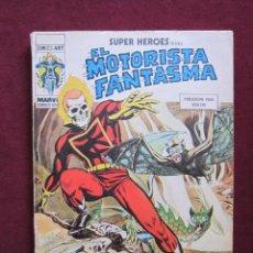 Cómics: SUPER HEROES Nº 7. VOL. 1. EL MOTORISTA FANTASMA. LA MUJER ENDEMONIADA. VERTICE V.1. Lote 42316159