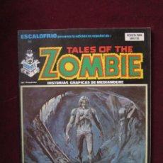 Cómics: ESCALOFRIO Nº 23. TALES OF THE ZOMBIE, 7. HISTORIAS GRÁFICAS DE MEDIANOCHE. VERTICE, 1974 TEBENI MBE. Lote 42316285