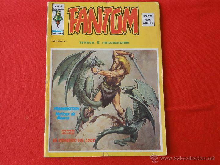FANTOM VOL.2 Nº 8. CON FRANKENSTEIN Y SATAN (Tebeos y Comics - Vértice - Terror)