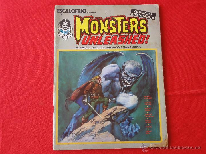ESCALOFRIO Nº 3. MONSTERS UNLEASHED! (Tebeos y Comics - Vértice - Terror)