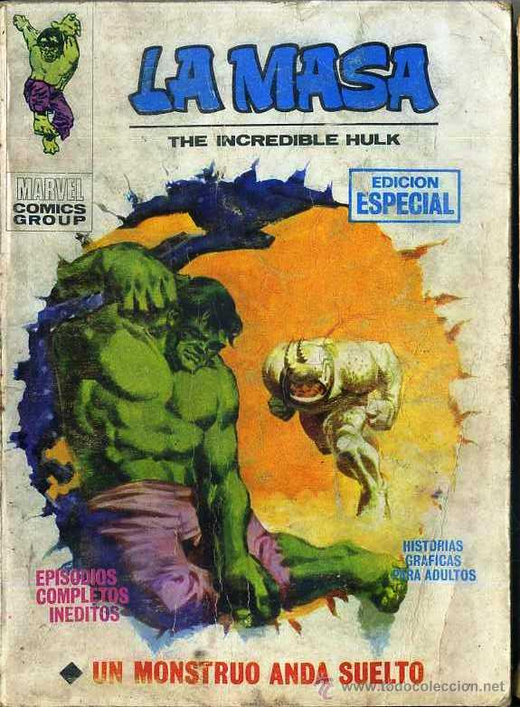LA MASA Nº 2 - UN MONSTRUO ANDA SUELTO - TACO (Tebeos y Comics - Vértice - La Masa)