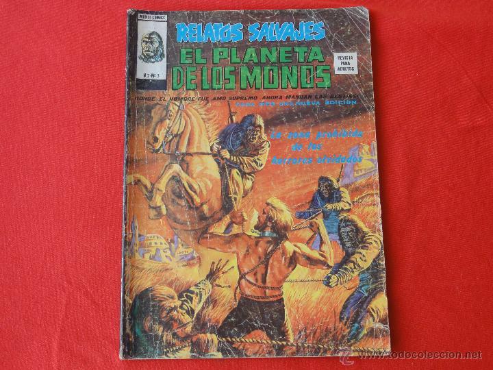 RELATOS SALVAJES. VOL.2 N. 3 EL PLANETA DE LOS MONOS. (Tebeos y Comics - Vértice - Relatos Salvajes)