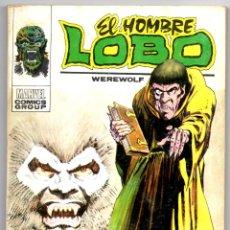 Cómics: HOMBRE LOBO Nº 3 (VERTICE 1973) CAZA PELIGROSA.. Lote 42417632