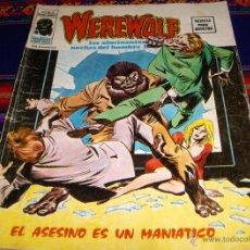 Cómics: VÉRTICE VOL. 2 WEREWOLF Nº 4 LAS ALUCINANTES NOCHES DEL HOMBRE LOBO. 35 PTS. 1975. DIFÍCIL!!!!. Lote 42478893