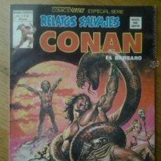 Cómics: CONAN EL BARBARO COMIC RELATOS SALVAJES VERTICE ESPECIAL SERIE VOL. 1 NUMERO 82. Lote 42559485