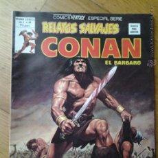 Cómics: COMICS CONAN EL BARBARO RELATOS SALVAJES VERTICE ESPECIAL SERIE VOL. 1 NUMERO 80. Lote 42559743