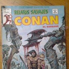 Cómics: CONAN EL BARBARO COMIC RELATOS SALVAJES VERTICE ESPECIAL SERIE VOL. 1 NUMERO 79. Lote 42559852