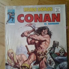 Cómics: CONAN EL BARBARO RELATOS SALVAJES MUNDI COMICS VOL. 1 NUMERO 43. Lote 42560687