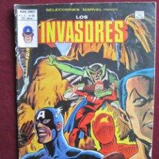 Cómics: SELECCIONES MARVEL Nº 50. LOS INVASORES ¡V... POR VAMPIRO! VÉRTICE 1979. Lote 42597320