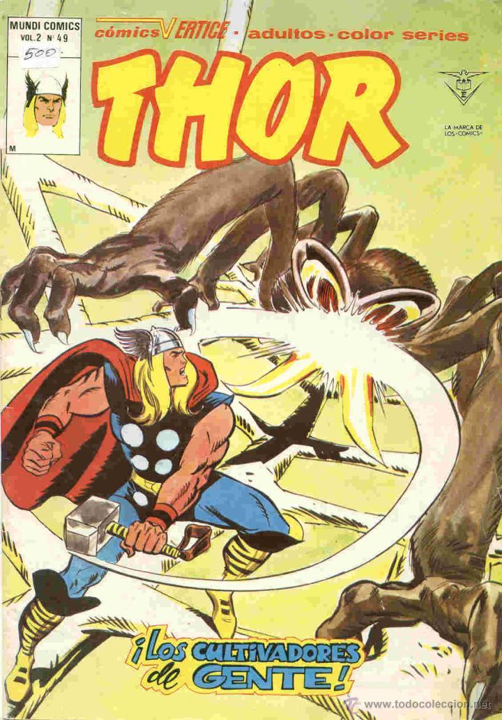 THOR VOLUMEN 2 NÚMERO 49 (Tebeos y Comics - Vértice - Thor)