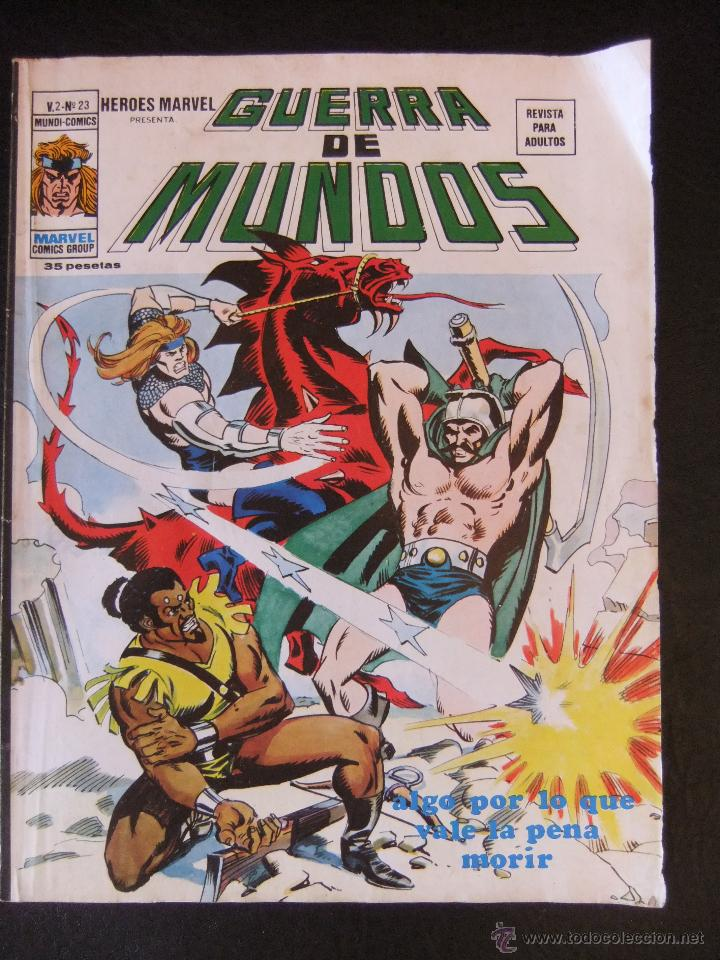 HEROES MARVEL V.2 Nº 23 LA GUERRA DE LOS MUNDOS (Tebeos y Comics - Vértice - V.2)