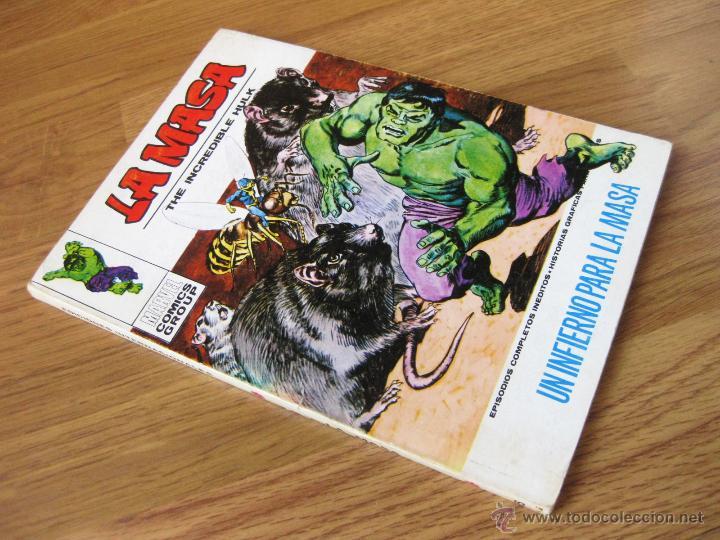 COMIC DE LA MASA NUMERO 26 - UN INFIERNO PARA LA MASA - EPISODIOS COMPLETOS INEDITOS - VERTICE V. 1 (Tebeos y Comics - Vértice - La Masa)