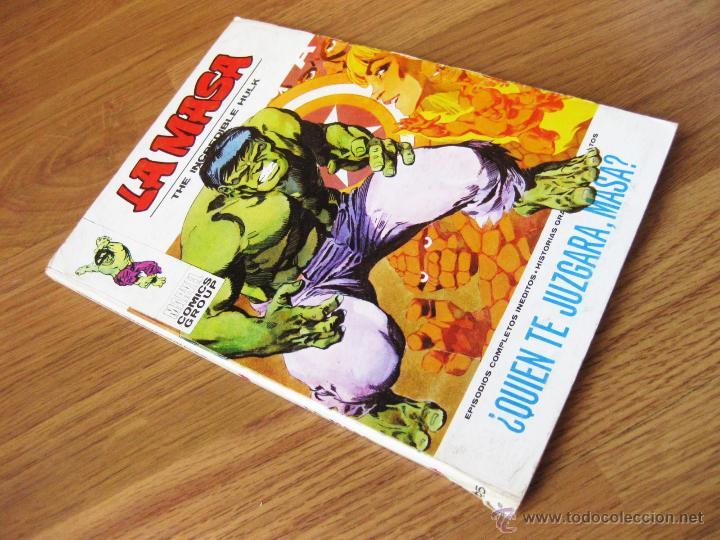 COMIC DE LA MASA NUMERO 25 - ¿ QUIEN TE JUZGARA MASA ? - EPISODIOS COMPLETOS INEDITOS - VERTICE V. 1 (Tebeos y Comics - Vértice - La Masa)