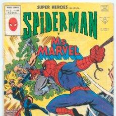 Cómics: SUPER HEROES - V.2 - Nº 105 - SPIDERMAN Y MS. MARVEL - MUNDI-COMICS - ED. VERTICE - 1978. Lote 42716115