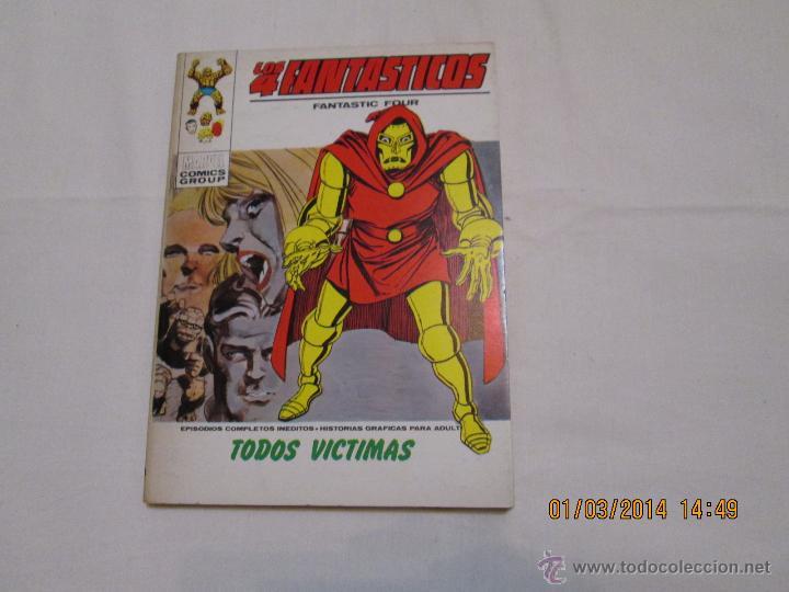 LOS 4 FANTASTICOS Nº 43 - VERTICE TACO - 1973 (Tebeos y Comics - Vértice - 4 Fantásticos)