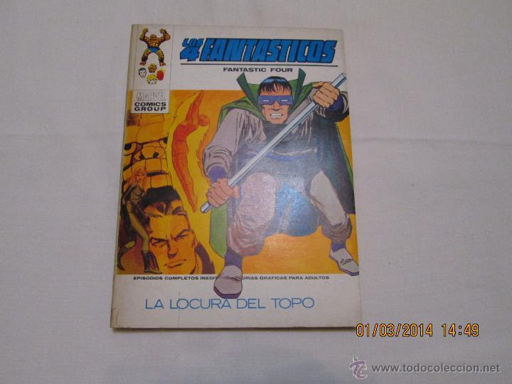 LOS 4 FANTASTICOS Nº 44 - VERTICE TACO - 1973 (Tebeos y Comics - Vértice - 4 Fantásticos)