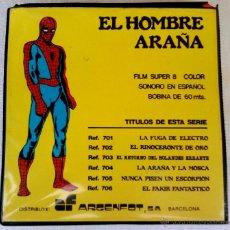 Cómics: SPIDERMAN,PELICULA EN SUPER 8, AÑO 1967 UNICA¡¡,HEROE COMO CAPITAN AMERICA,THOR,PATRULLA X, VERTICE. Lote 42805804