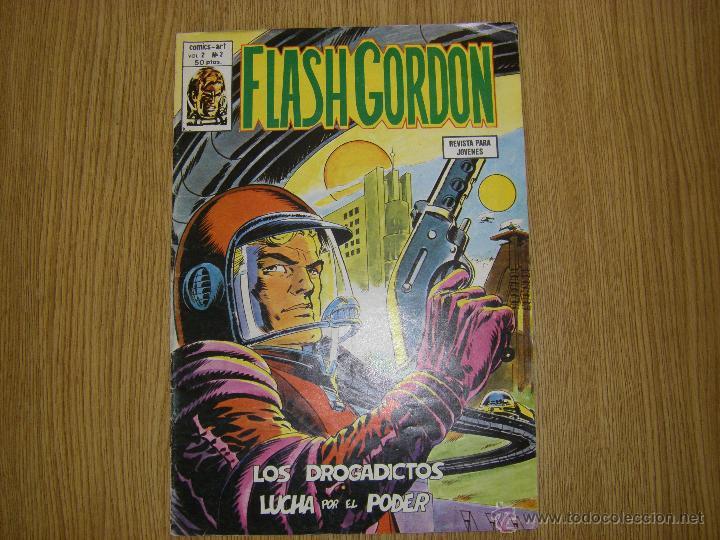 FLASH GORDON - VOLUMEN 2 Nº 3 - VÉRTICE (Tebeos y Comics - Vértice - Flash Gordon)