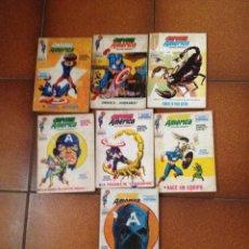 Cómics: LOTE 7 COMICS DE CAPITAN AMERICA 1972 Nº 4,6,9,14,16,23,26,27. Lote 42912137