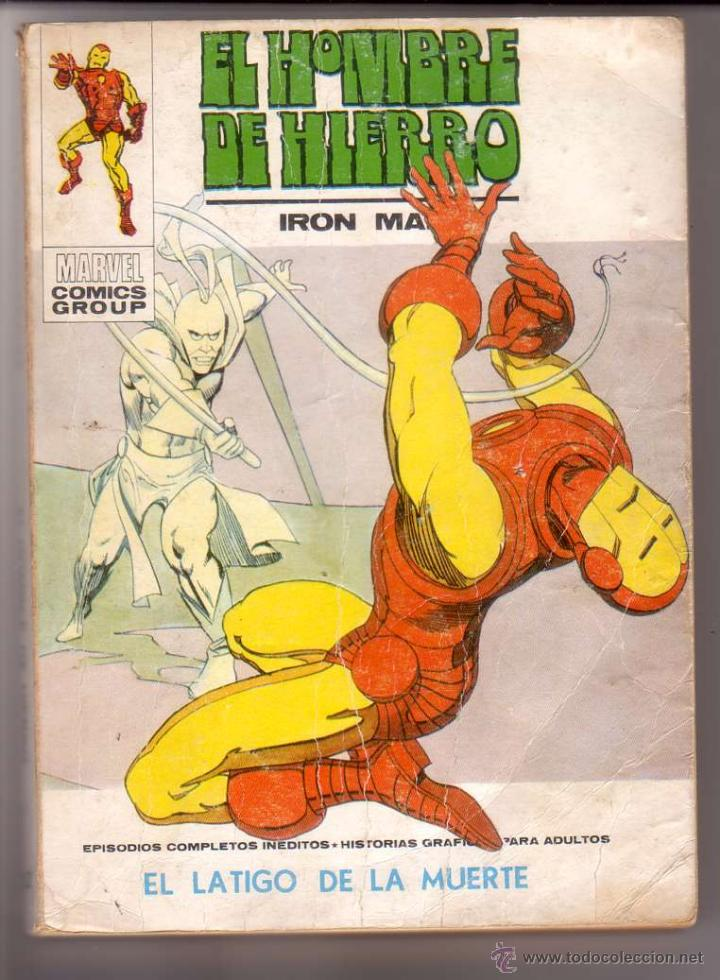 EL HOMBRE DE HIERRO VOL.1 # 32 (VERTICE,1973) - ULTIMO NUMERO (Tebeos y Comics - Vértice - Hombre de Hierro)
